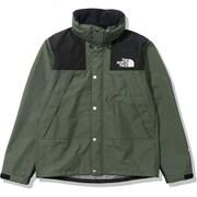 マウンテンレインテックスジャケット Mountain Raintex Jacket NP11914 (TG)タイムグリーン  Mサイズ [アウトドア ジャケット メンズ]