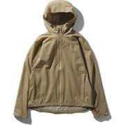 ベンチャージャケット Venture Jacket NPW11536 (KT)ケルプタン Lサイズ [アウトドア レインジャケット レディース]