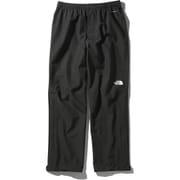 FL ドリズルパンツ FL Drizzle pants NP12015 (K)ブラック XLサイズ [アウトドア レインパンツ メンズ]