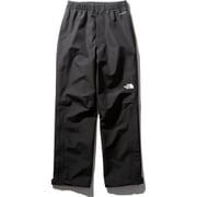FL ドリズルパンツ FL Drizzle pants NPW12015 (K)ブラック Sサイズ [アウトドア レインパンツ レディース]