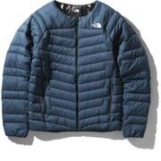 サンダーラウンドネックジャケット Thunder Roundneck Jacket NY32013 (BT)ブルーウィングティール Lサイズ [アウトドア ダウン メンズ]
