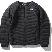サンダーラウンドネックジャケット Thunder Roundneck Jacket NY32013 (K)ブラック Mサイズ [アウトドア ダウン メンズ]