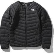 サンダーラウンドネックジャケット Thunder Roundneck Jacket NY32013 (K)ブラック Lサイズ [アウトドア ダウン メンズ]