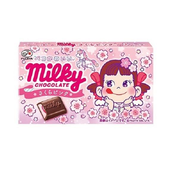 ミルキーチョコレート(さくらピンク) 12粒