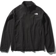 エイペックスライトジャケット APEX LIGHT JACKET NP22080 (K)ブラック Sサイズ [アウトドア ジャケット メンズ]