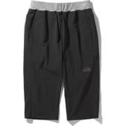 トレーニングリブクロップドパンツ Training Rib Cropped Pants NB32081 (K)ブラック XLサイズ [アウトドア パンツ メンズ]
