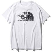 ショートスリーブGTDロゴクルー S/S GTD Logo Crew NT12092 (W)ホワイト Lサイズ [アウトドア カットソー メンズ]