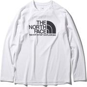ロングスリーブGTDロゴクルー L/S GTD Logo Crew NT12093 (W)ホワイト Mサイズ [アウトドア カットソー メンズ]