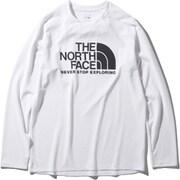 ロングスリーブGTDロゴクルー L/S GTD Logo Crew NT12093 (W)ホワイト XLサイズ [アウトドア カットソー メンズ]