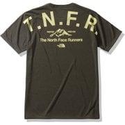 ショートスリーブカラーへザードTNFRティー S/S Color Heathered TNFR Tee NT32091 (NT)ニュートープ Mサイズ [アウトドア シャツ メンズ]