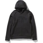 テックエアスウェットフーディ Tech Air Sweat Hoodie NT12085 (K)ブラック Lサイズ [アウトドア スウェット メンズ]