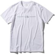 ショートスリーブエクスプロラトリーロゴティー S/S Exploratory Logo Tee NT32083 (W)ホワイト Mサイズ [アウトドア カットソー メンズ]