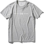 ショートスリーブエクスプロラトリーロゴティー S/S Exploratory Logo Tee NT32083 (Z)ミックスグレー Lサイズ [アウトドア カットソー メンズ]