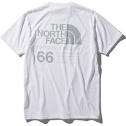 ショートスリーブ66カリフォルニアティー S/S 66 California Tee NT32085 (W)ホワイト Mサイズ [アウトドア カットソー メンズ]