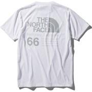 ショートスリーブ66カリフォルニアティー S/S 66 California Tee NT32085 (W)ホワイト Lサイズ [アウトドア カットソー メンズ]