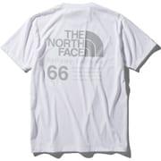 ショートスリーブ66カリフォルニアティー S/S 66 California Tee NT32085 (W)ホワイト XLサイズ [アウトドア カットソー メンズ]