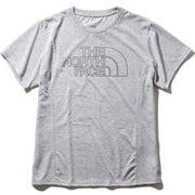 カラーヘザードロゴティー Color Heathered Logo Tee NTW32081 (Z)ミックスグレー XLサイズ [アウトドア カットソー レディース]