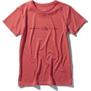 ショートスリーブエクスプロラトリーロゴティー S/S Exploratory Logo Tee NTW32083 (SR)サンベイクドレッド XLサイズ [アウトドア カットソー レディース]