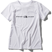 ショートスリーブエクスプロラトリーロゴティー S/S Exploratory Logo Tee NTW32083 (W)ホワイト Mサイズ [アウトドア カットソー レディース]