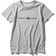 ショートスリーブエクスプロラトリーロゴティー S/S Exploratory Logo Tee NTW32083 (Z)ミックスグレー Mサイズ [アウトドア カットソー レディース]