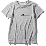 ショートスリーブエクスプロラトリーロゴティー S/S Exploratory Logo Tee NTW32083 (Z)ミックスグレー XLサイズ [アウトドア カットソー レディース]