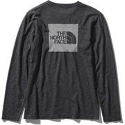 ロングスリーブスクエアロゴジャカードティー L/S Square Logo Jacquard Tee NTW61907 (K)ブラック Mサイズ [アウトドア カットソー レディース]