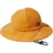 リバーシブルハット&ハンドタオルセット Baby Reversible Hat & Hand Towel Set NNB02010 (FO)フレームオレンジ [アウトドア 小物 キッズ]