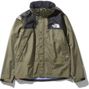マウンテンレインテックスジャケット Mountain Raintex Jacket NP11935 (BG)バーントオリーブ XLサイズ [アウトドア レインジャケット メンズ]