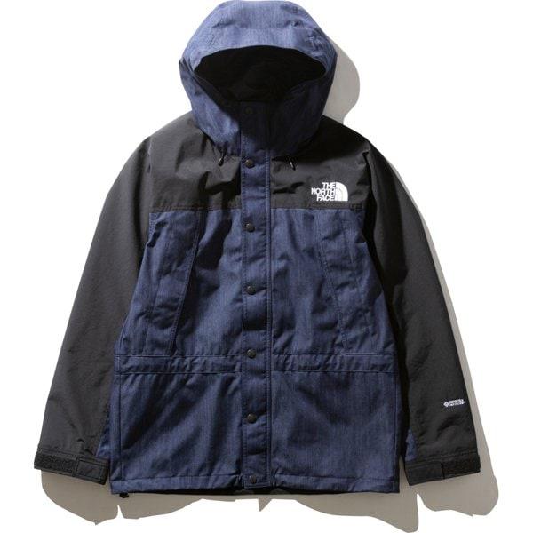 マウンテンライトデニムジャケット Mountain Light Denim Jacket NP12032 (ID)ナイロンインディゴデニム Lサイズ [アウトドア ジャケット メンズ]