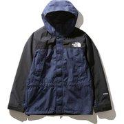 マウンテンライトデニムジャケット Mountain Light Denim Jacket NP12032 (ID)ナイロンインディゴデニム XXLサイズ [アウトドア ジャケット メンズ]