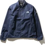 GTXデニムコーチジャケット GTX Denim Coach Jacket NP12042 (ID)ナイロンインディゴデニム Lサイズ [アウトドア ジャケット メンズ]