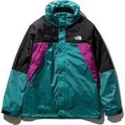 XXX トリクライメイトジャケット XXX Triclimate Jacket NP21730 (JG)ブラック×ワイルドアスターピンク×ジェイデングリーン Sサイズ [アウトドア ジャケット メンズ]