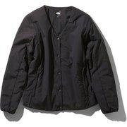 ベントリックスゼファーカーディガン Ventrix Zepher Cardigan NYW31961 (K)ブラック Sサイズ [アウトドア 中綿ウェア レディース]