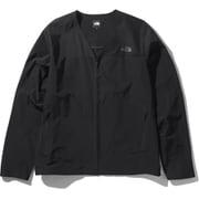 デザートカーディガン Desert Cardigan NP22039 (K)ブラック Mサイズ [アウトドア ジャケット メンズ]