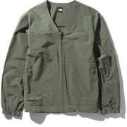 デザートカーディガン Desert Cardigan NPW22039 (TG)タイムグリーン Mサイズ [アウトドア ジャケット レディース]