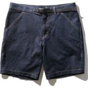 デニムクライミングショーツ Denim Climbing Shorts NB42006 (ID)インディゴ XLサイズ [アウトドア ショートパンツ メンズ]