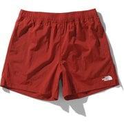 バーサタイルショーツ Versatile Shorts NB42051 (PR)ポンペイアンレッド Lサイズ [アウトドア ショートパンツ メンズ]