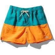 マッドショーツ Mud Shorts NB42053 (FO)フレームオレンジ×ファンファーレグリーン Sサイズ [アウトドア ショートパンツ メンズ]