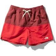 マッドショーツ Mud Shorts (PR)ポンペイアンレッド×バロロレッド Mサイズ [アウトドア ショートパンツ メンズ]