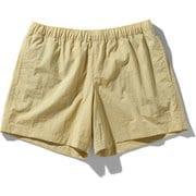 バーサタイルショーツ Versatile Shorts NBW42051 (HA)ヘンプ Sサイズ [アウトドア ショートパンツ レディース]