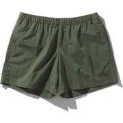 バーサタイルショーツ Versatile Shorts NBW42051 (TG)タイムグリーン Lサイズ [アウトドア ショートパンツ レディース]