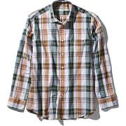 ロングスリーブ バハダネイチャーシャツ L/S Bajada Nature Shirt NR11957 (G)グリーン Lサイズ [アウトドア シャツ メンズ]
