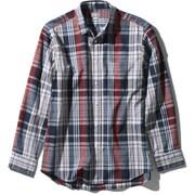ロングスリーブ バハダネイチャーシャツ L/S Bajada Nature Shirt NR11957 (NN)ネイビー2 Sサイズ [アウトドア シャツ メンズ]