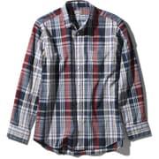 ロングスリーブ バハダネイチャーシャツ L/S Bajada Nature Shirt NR11957 (NN)ネイビー2 XLサイズ [アウトドア シャツ メンズ]