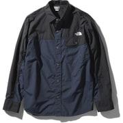 ロングスリーブヌプシシャツ L/S Nuptse Shirt NR11961 (UN)アーバンネイビー Lサイズ [アウトドア シャツ ユニセックス]