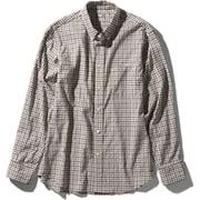 ロングスリーブヒデンバリーシャツ L/S Hidden Valley Shirt NR11966 (RG)ブラウンギンガム Lサイズ [アウトドア シャツ メンズ]