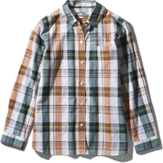 ロングスリーブ バハダネイチャーシャツ L/S Bajada Nature Shirt NRW11957 (G)グリーン Lサイズ [アウトドア シャツ レディース]