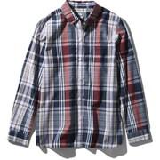 ロングスリーブ バハダネイチャーシャツ L/S Bajada Nature Shirt NRW11957 (NN)ネイビー2 Sサイズ [アウトドア シャツ レディース]