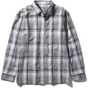 ロングスリーブ バハダネイチャーシャツ L/S Bajada Nature Shirt NRW11957 (WW)ホワイト2 Mサイズ [アウトドア シャツ レディース]