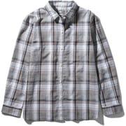 ロングスリーブ バハダネイチャーシャツ L/S Bajada Nature Shirt NRW11957 (WW)ホワイト2 Lサイズ [アウトドア シャツ レディース]